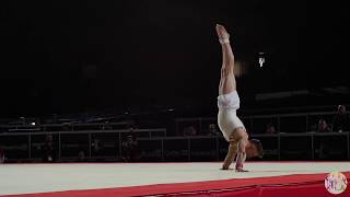 N. Wilson (GBR) FX - 2017 World Championships - Podium Training
