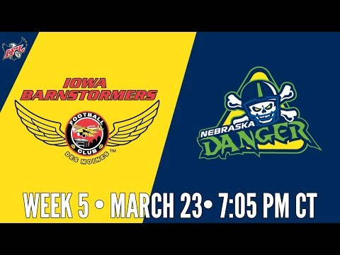 Week 5 | Iowa Barnstormers at Nebraska Danger
