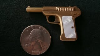Miniature Savage Pistol Model 1907