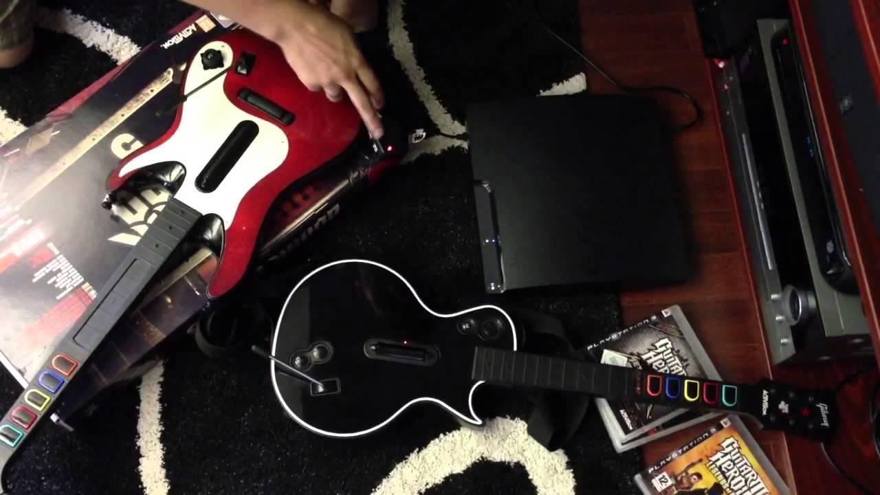 guitar hero 5 guitar sync problem youtube. Black Bedroom Furniture Sets. Home Design Ideas