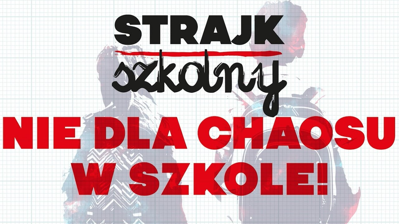 Nie dla chaosu w szkole - strajk szkolny - spot ZNP i Razem