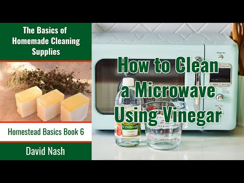 How to Remove Stains and Odor in Microwave with Vinegar?