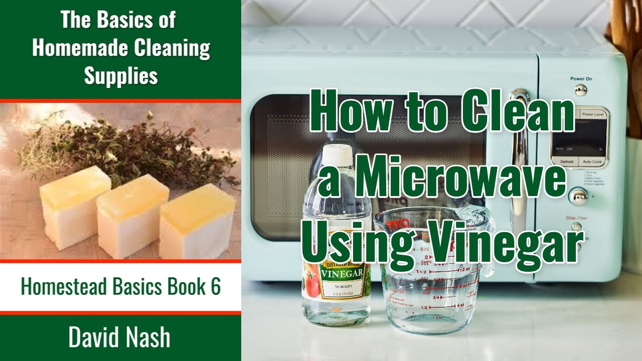 How To Clean A Microwave With Vinegar