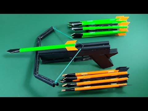 How To Make a Paper CROSSBOW | Toy Weapons | By Dr. Origami
