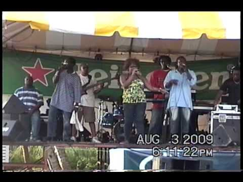 Dominica. Natural Vibes, Club DVD,@ Machoucrie August Monday 2009 2 of 2