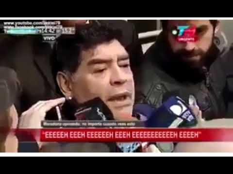Maradona -entrevista-  EEEEEH...EEEEH...EEEEH -parodia