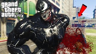 VENOM BITING HEADS OFF (NEW MOD) - GTA 5 Mods