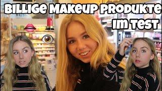 KOMPLETTES Make-up für UNTER 10€ + TEST!!😱💄