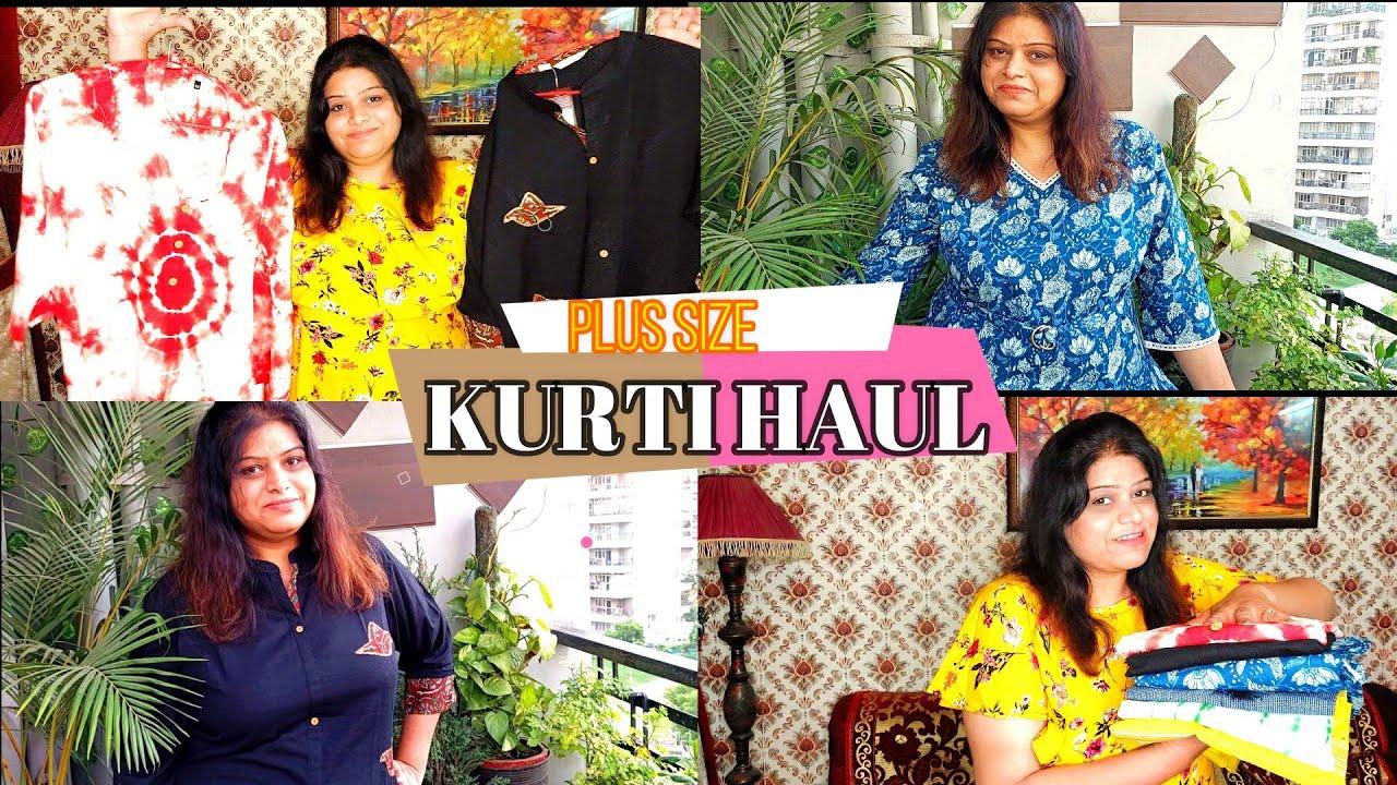 Plus Size Kurti Haul // XS to 7XL Plus Size Kurti || TIO Tv 📺