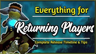 Returning player to Guİld Wars 2 in 2020? Here's what to do! | Release Timeline - GW2 Guide
