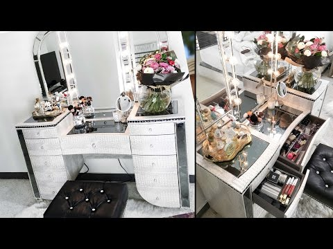 Vanity & Makeup Organization Tour