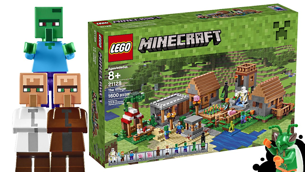 Lego minecraft village set my thoughts youtube for Lego world craft
