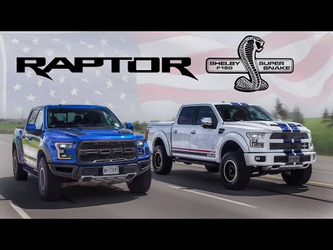 2017 Ford Raptor vs 700hp Shelby F150 Review - Yuri and Jakub Go For a Drive