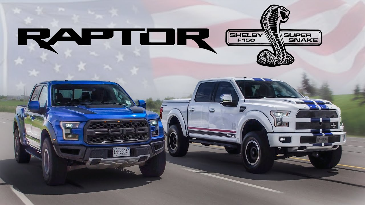 2015 Chevy Reaper >> 2017 Ford Raptor vs 700hp Shelby F150 Review - American Legends - YouTube