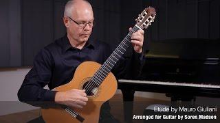 Etude (Mauro Giuliani) - Danish Guitar Performance - Soren Madsen