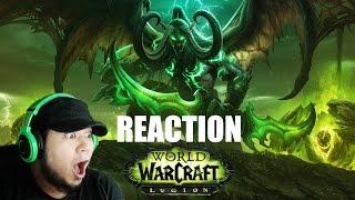WoW: Legion Trailer - Reaction Video (Joey Zero)