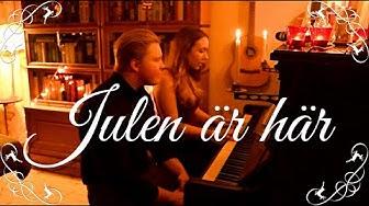 Julen är här - Tommy Körberg, Sissle Kyrkjebø (Cover by Inessa & Jacob)