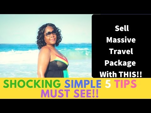 How to sell vacation packages | KEY 5 Steps Must See!!