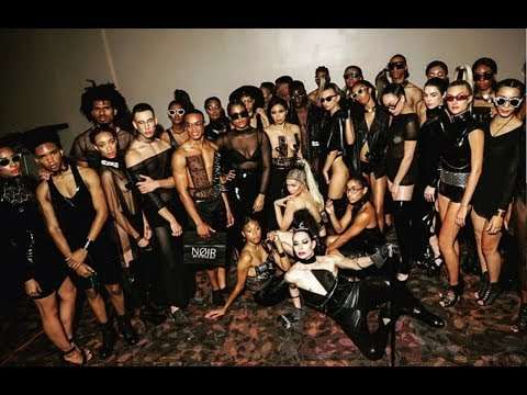 """STEVIE BOI PRESENTS """"NØIR"""" BY SB S/S 18 COLLECTION NEW YORK FASHION WEEK"""
