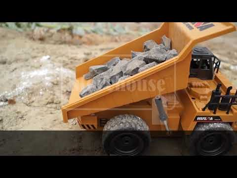 DumpMaster™   Top of the Line Professional RC Dump Truck!