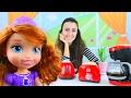 Prenses Sofia Için Yemek Yapıyoruz Oyuncak Mutfak Seti mp3