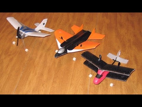 Watch How To Make A Simple Rc Plane From Cardboard