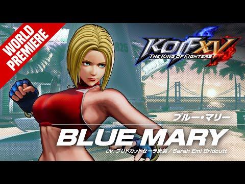 KOF XV BLUE MARY Trailer #21