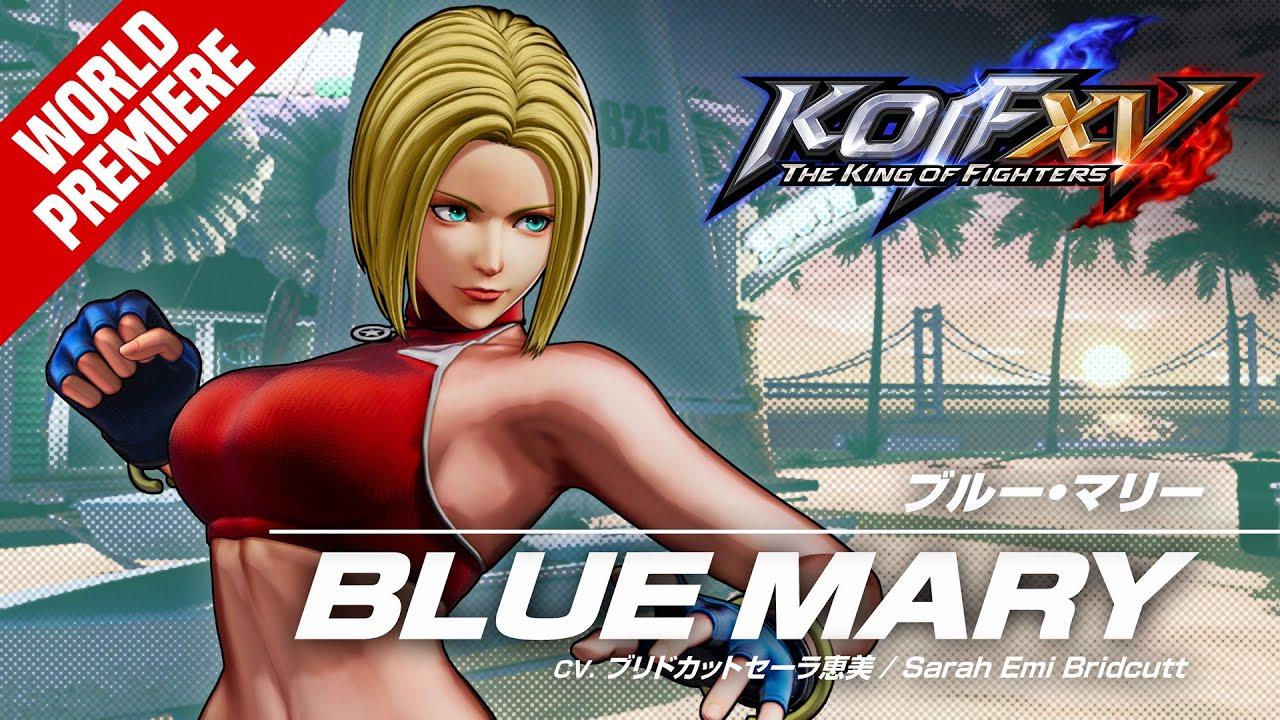 KOF XV|BLUE MARY|Trailer #21