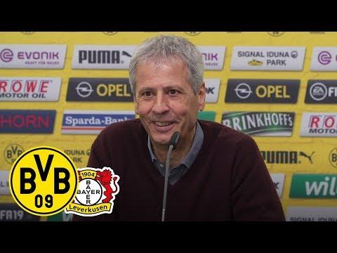 'Wir haben gut trainiert' | PK mit Favre | BVB - Bayer 04 Leverkusen