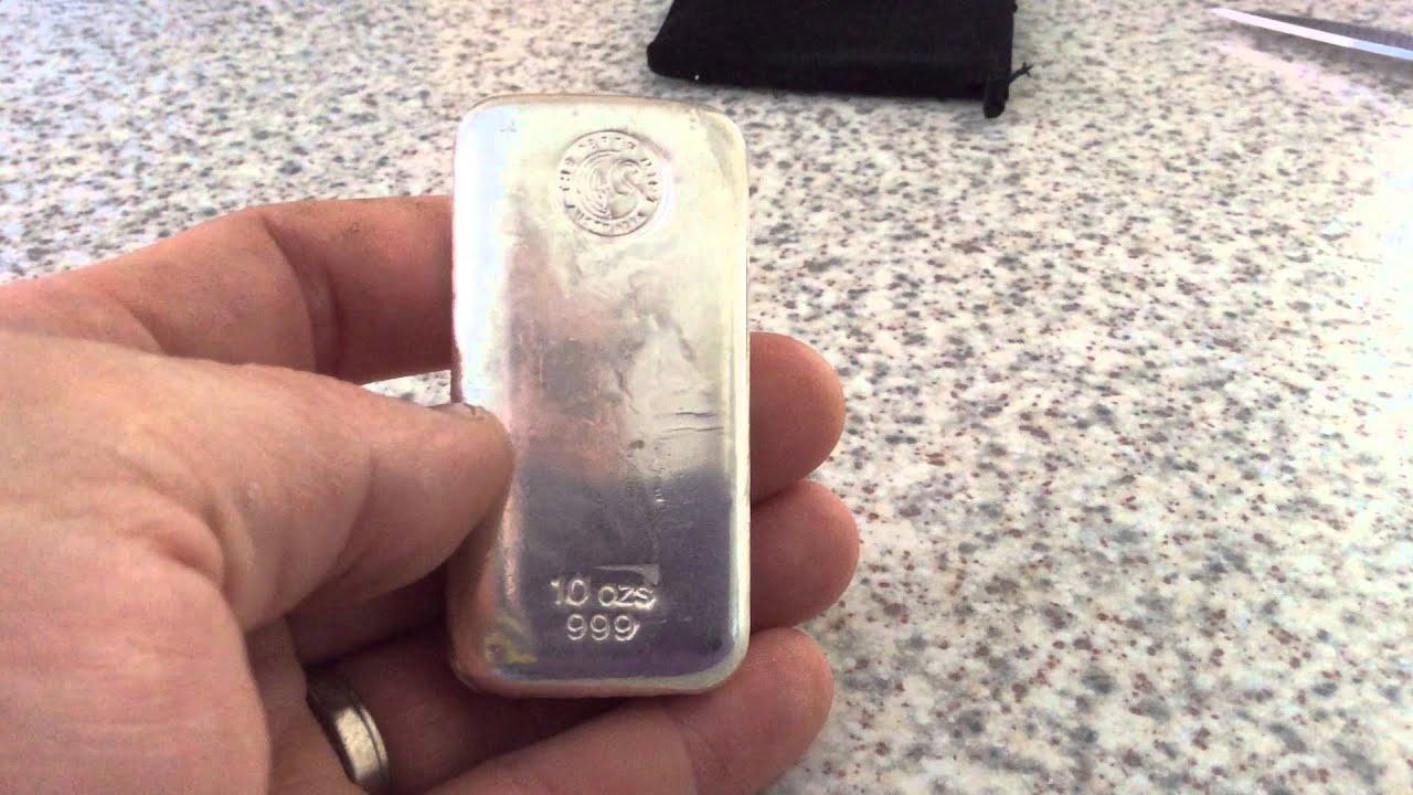 Perth Mint 10oz Silver Bar You
