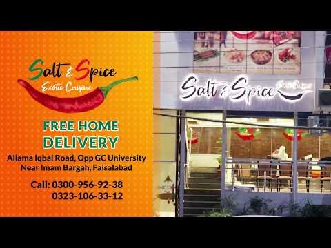 Salt & Spice Exotic Cuisine Faisalabad L Bizon.pk
