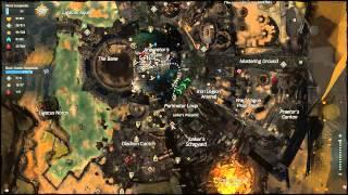 Guild Wars 2 - 100% Map Completion Black Citadel