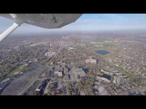 11/2 Breakfast flight part 3 - Aerial tour view of Palatine, IL