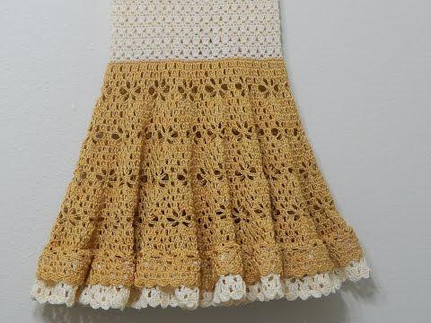 Vestido Crochet Circular parte 2 de 3