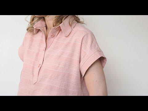 Pattern Spotlight Kalle Shirt And Dress Laurens 5 Versions