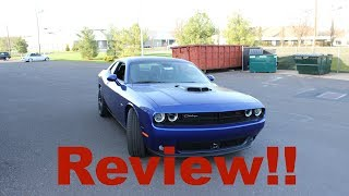 2018 DODGE CHALLENGER R/T SHAKER REVIEW! | The very definition of an American muscle car!