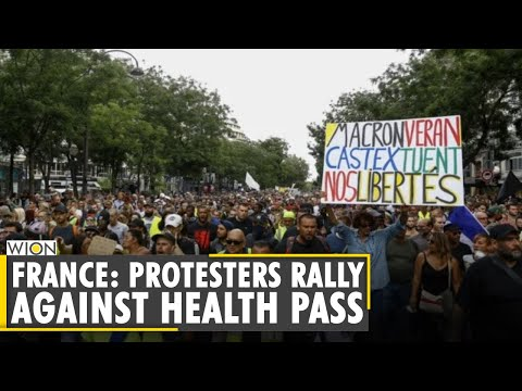 People take out protests in France against special virus pass | COVID Update | Latest English News