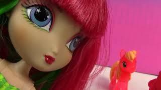 Розовый Пирог Делает Арбуз Мороженого Ла Ди Да Кукла Маленький Магазин Для Животных Мой Маленький П