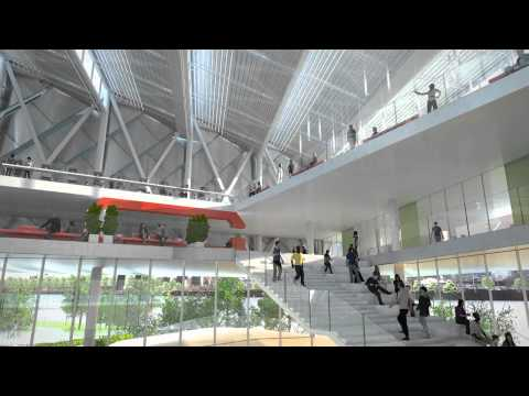 Technion Cornell NYC Tech Campus Interior View