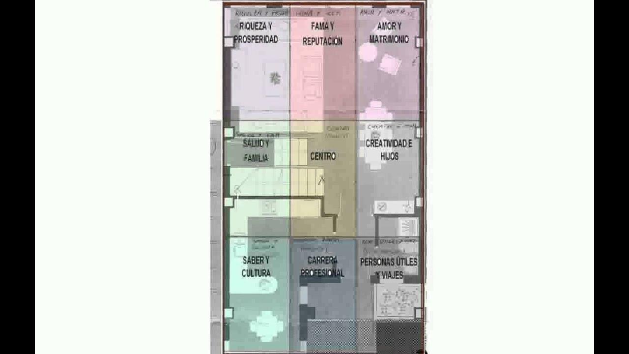 Mapa del feng shui para la casa youtube - Casas feng shui ...