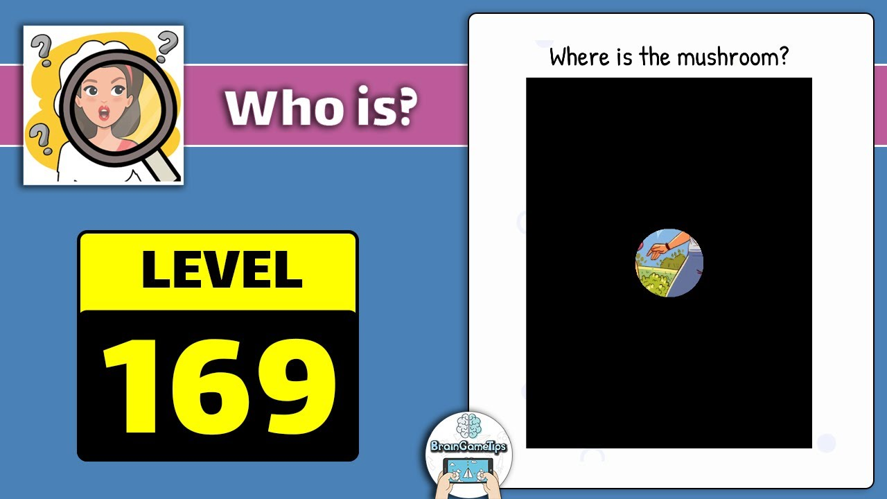 Who Is Level 169 Where Is The Mushroom Answer Daze Puzzle