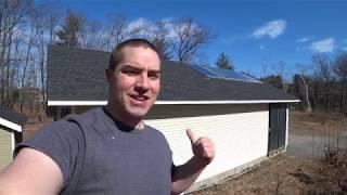 Solar Heated Garage Radiant Floor, Update