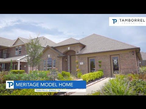 Meritage Homes Thoreau Floor Plan In Twin Falls Youtube