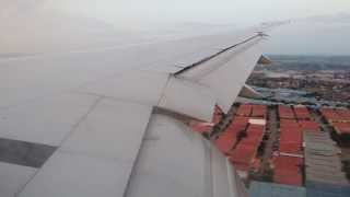(KISS LANDING) KLM Royal Dutch Airlines Boeing 777-300ER Landing at Jakarta