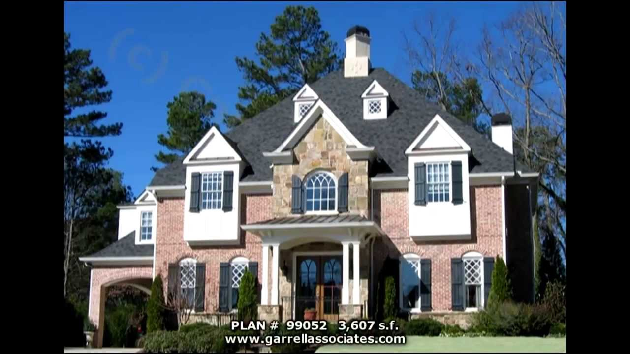 EUROPEAN FRENCH COUNTRY HOUSE PLANS BY GARRELL ASSOCIATES INC – European French Country House Plans