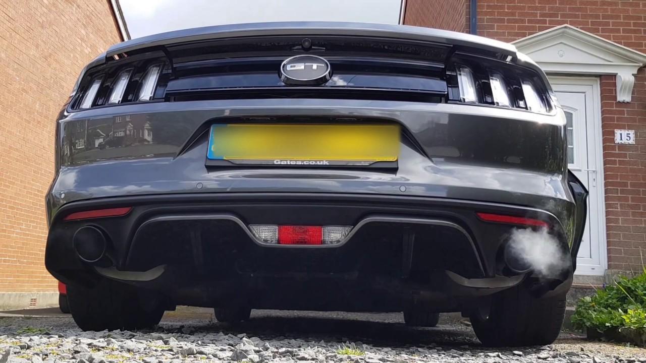 2016 uk mustang gt exhaust mods