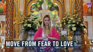 How I Moved From Fear to Love?  💚 • Quest for Beauty video