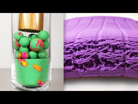 Very Satisfying and Relaxing Compilation 95 Kinetic Sand ASMR