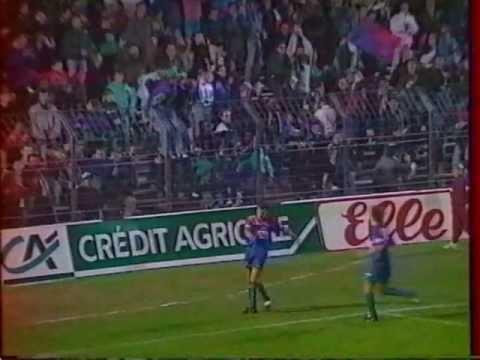 SM Caen -  Résumé saison 1990-1991