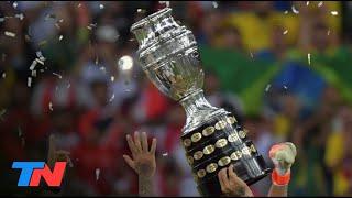 La Conmebol resolvió que la Copa América se jugará en Brasil